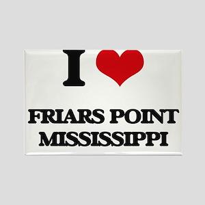 I love Friars Point Mississippi Magnets