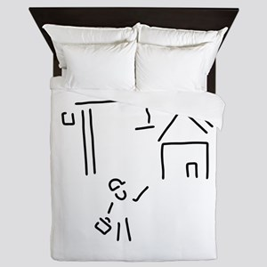 developer structural engineer building Queen Duvet