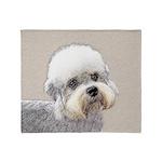 Dandie Dinmont Terrier Throw Blanket