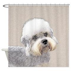 Dandie Dinmont Terrier Shower Curtain