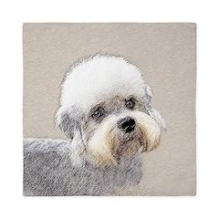 Dandie Dinmont Terrier Queen Duvet