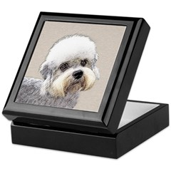 Dandie Dinmont Terrier Keepsake Box