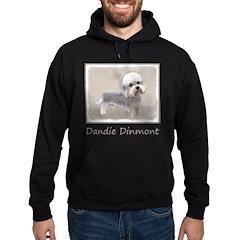 Dandie Dinmont Terrier Hoodie (dark)