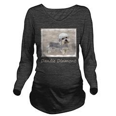 Dandie Dinmont Terri Long Sleeve Maternity T-Shirt