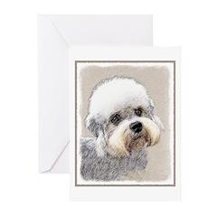 Dandie Dinmont Terrier Greeting Cards (Pk of 20)
