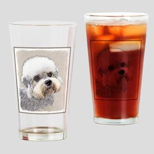 Dandie Dinmont Terrier Drinking Glass