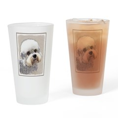 Dandie Dinmont Terrier Drinking Glass