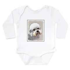 Dandie Dinmont Terrier Long Sleeve Infant Bodysuit