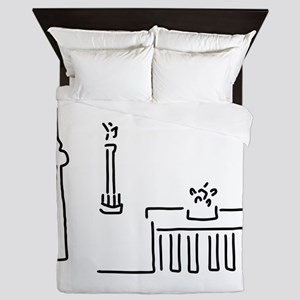 Berlin gate television tower victory c Queen Duvet