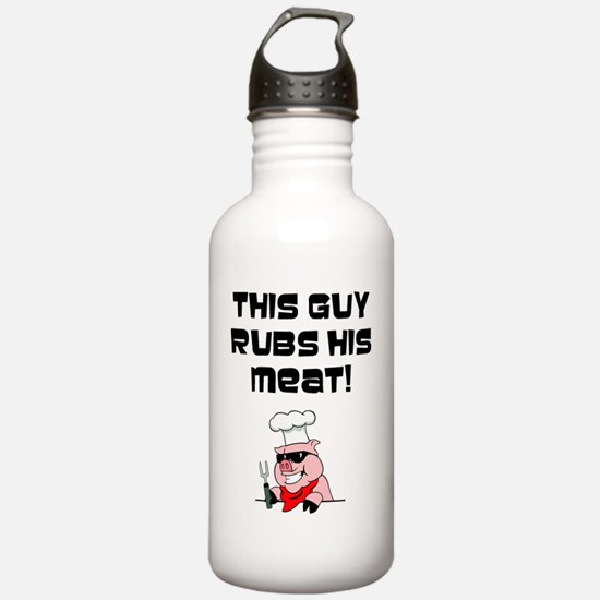 This Guy Rubs his Meat Water Bottle