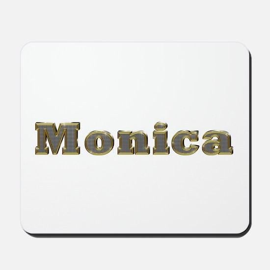 Monica Gold Diamond Bling Mousepad