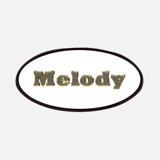 Melody Gold Diamond Bling Patch