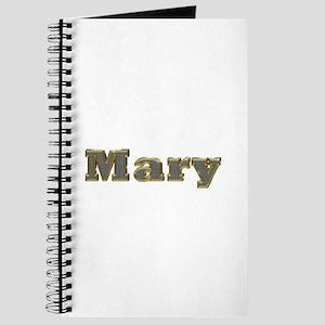Mary Gold Diamond Bling Journal