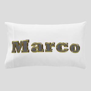 Marco Gold Diamond Bling Pillow Case
