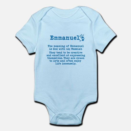 The Meaning of Emmanuel Body Suit