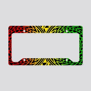 Island Tribal - Rasta License Plate Holder