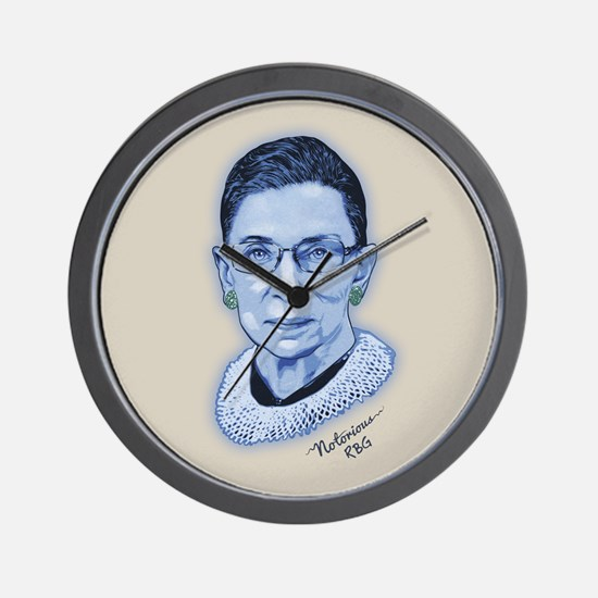 Notorious RBG II Wall Clock
