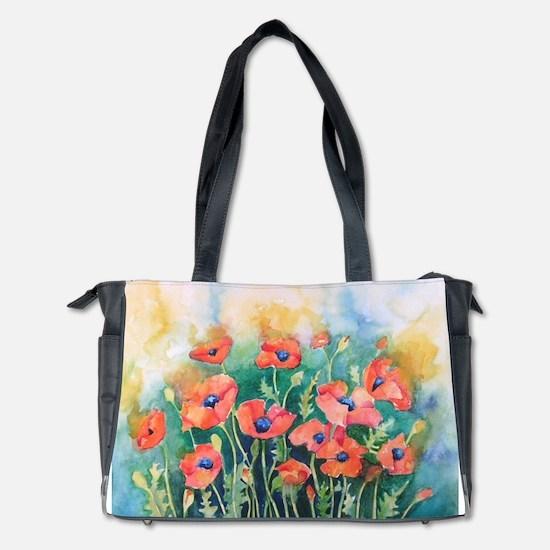 Poppies Diaper Bag
