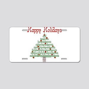 Genealogy NumbersTree Aluminum License Plate