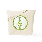 Music Treble Clef Gift Tote Bag