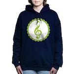 Music Treble Clef Gift Women's Hooded Sweatshirt