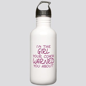 I'm The Girl Warning Stainless Water Bottle 1.0L