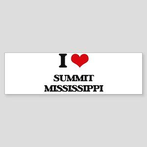 I love Summit Mississippi Bumper Sticker
