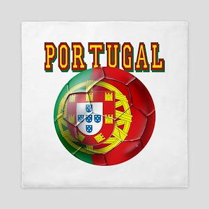 Portugal Soccer Futebol Queen Duvet