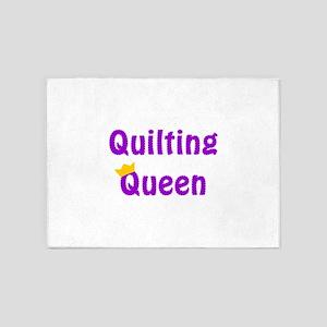 Queen of Quilting 5'x7'Area Rug