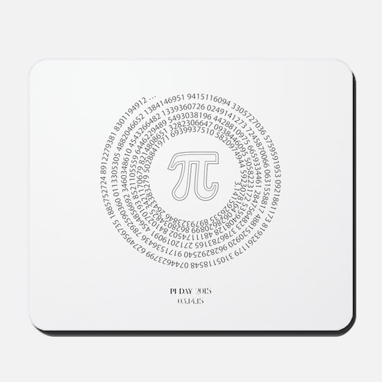 Pi day fashion theme Mousepad