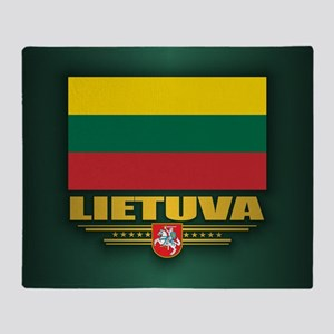 Lithuania Throw Blanket