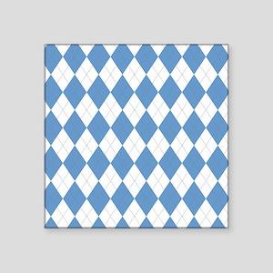 """unc 4 Square Sticker 3"""" x 3"""""""
