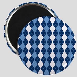 Blue Arglye Magnet