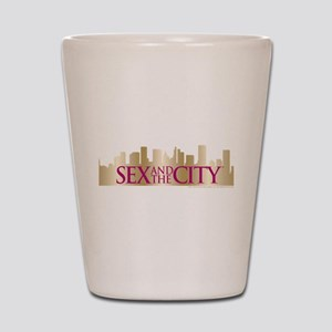 Sex and the City Skyline Shot Glass