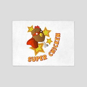 Super Chicken 5'x7'Area Rug