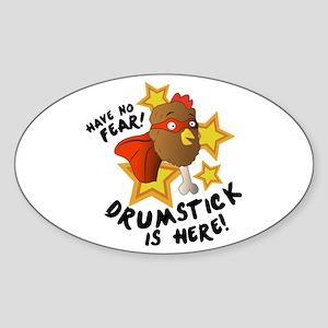 Drumstick Is Here Sticker
