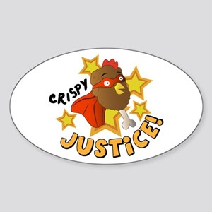 Crispy Justice Sticker