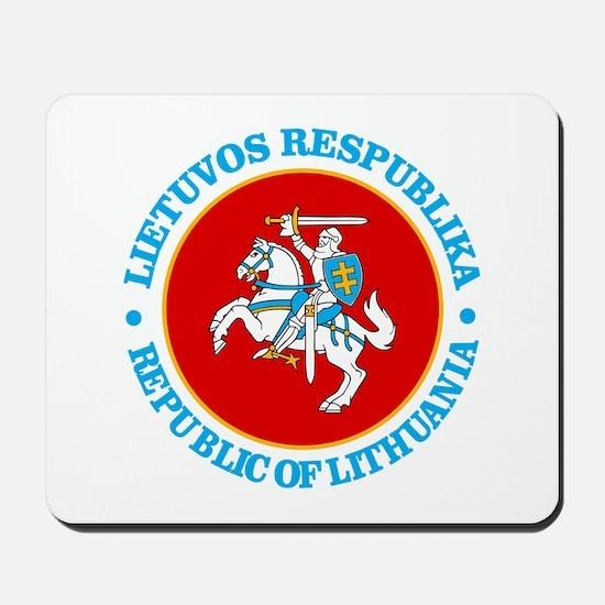 Lithuania COA rd Mousepad
