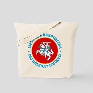 Lithuania COA rd Tote Bag