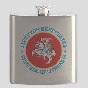 Lithuania COA rd Flask