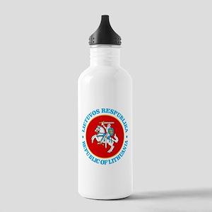 Lithuania COA rd Water Bottle