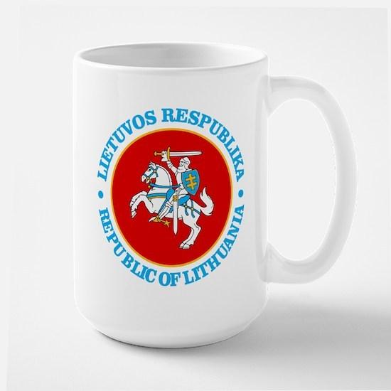 Lithuania COA rd Mugs