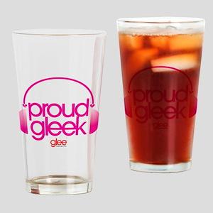 Proud Gleek Drinking Glass