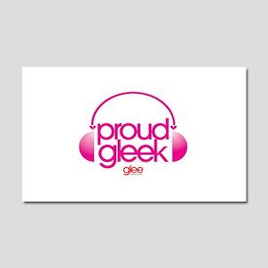Proud Gleek Car Magnet 20 x 12