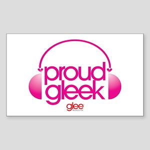 Proud Gleek Sticker (Rectangle)