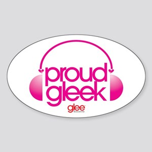 Proud Gleek Sticker (Oval)