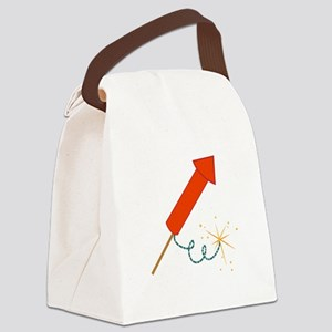Firecracker Canvas Lunch Bag