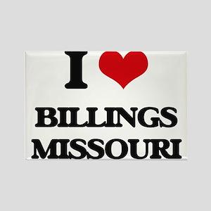 I love Billings Missouri Magnets