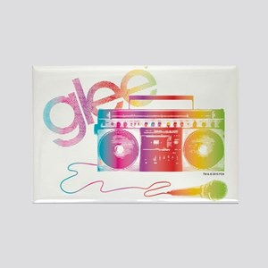 Glee Boombox Rectangle Magnet