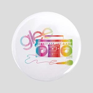 "Glee Boombox 3.5"" Button"